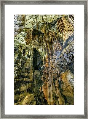 Jasovska Cave, Jasov, Slovakia Framed Print by Elenarts - Elena Duvernay photo