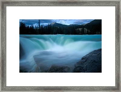 Jasper - Athabasca Falls 2 Framed Print