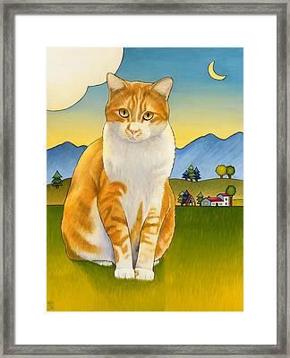 Jasper Framed Print by Stacey Neumiller