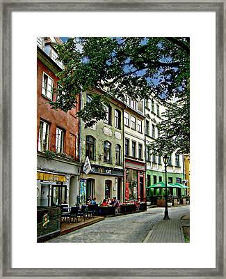 Jauniela Neighborhood Framed Print
