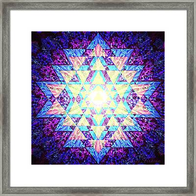Jaunty - Align Brilliantly Framed Print by Clare Goodwin