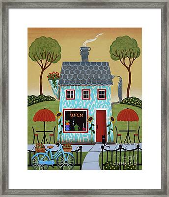 Java House Framed Print by Mary Charles