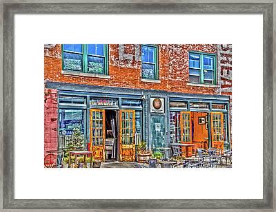 Java House Framed Print