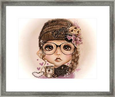 Java Joanna Framed Print by Sheena Pike
