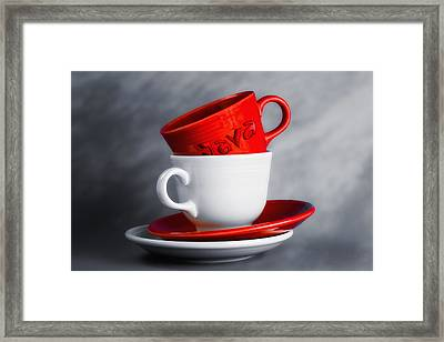 Java Framed Print by Tom Mc Nemar