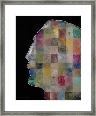 Javier Bardem Framed Print by Antonio Ortiz