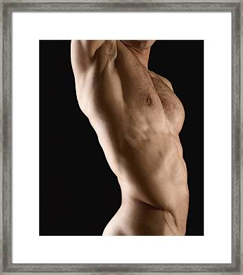 Javier Torso 1 Framed Print