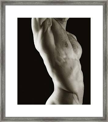 Javier Torso 2 Framed Print