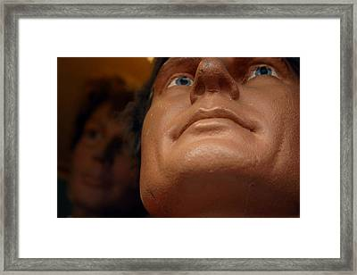 Jaw Line Framed Print by Jez C Self