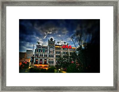 Framed Print featuring the photograph Jax Brewery  by Jim Albritton