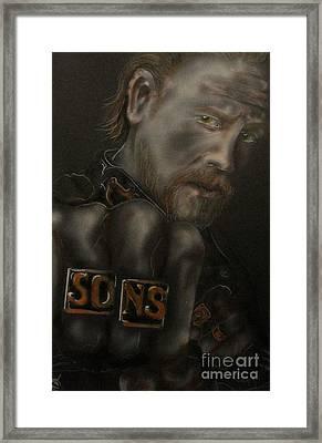 Jax Framed Print by John Sodja
