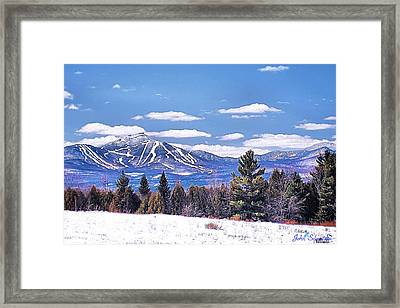 Jay Peak Framed Print