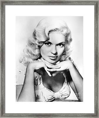 Jayne Mansfield  (1933-1967) Framed Print by Granger