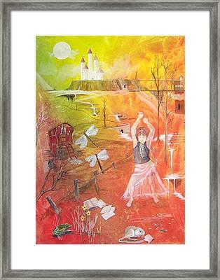 Jayzen - The Little Gypsy Dancer Framed Print