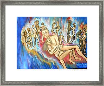 Jazebelle's Revenge Framed Print by BJ Abrams
