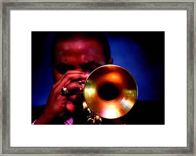 Jazz 11 Framed Print