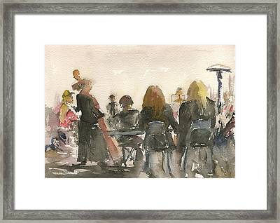 Jazz At Panama 66 Framed Print