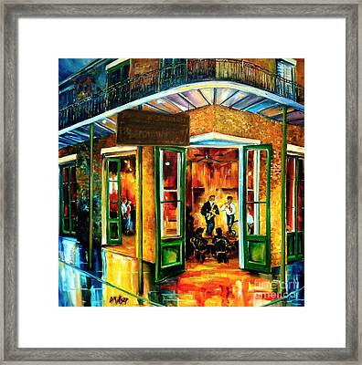 Jazz At The Maison Bourbon Framed Print