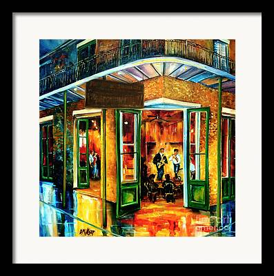 Abstract Impressionism Framed Prints