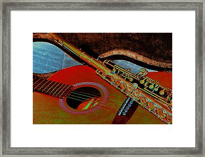 Jazz Band Framed Print