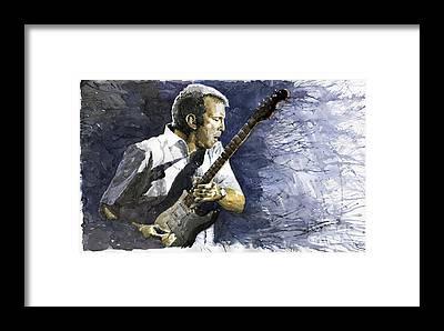 Musician Framed Prints