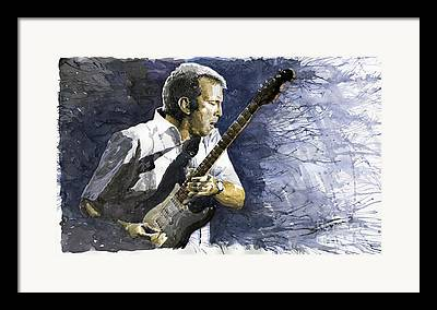 Musicians Paintings Framed Prints