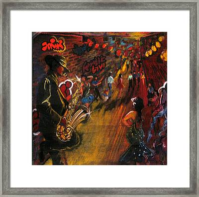 Jazz It Up Framed Print