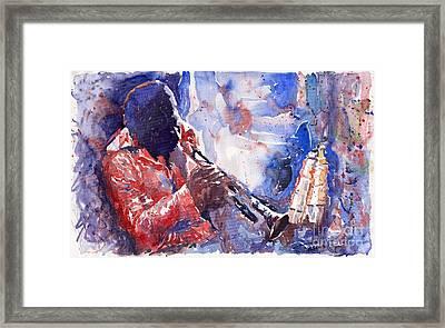 Jazz Miles Davis 15 Framed Print