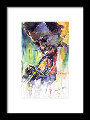 Jazz Music Framed Prints