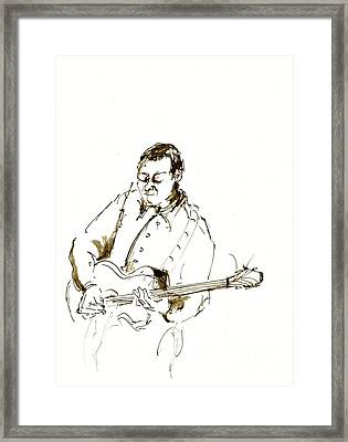 Jazz Musician_2 Framed Print