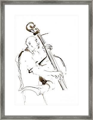 Jazz Musician_5 Framed Print