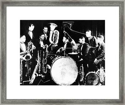 Jazz Musicians, C1925 Framed Print
