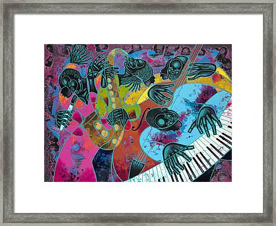 Jazz On Ogontz Ave. Framed Print