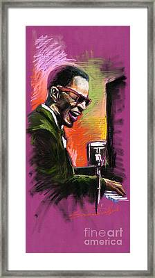 Jazz. Ray Charles.2. Framed Print by Yuriy  Shevchuk