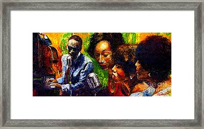 Jazz  Ray Song Framed Print