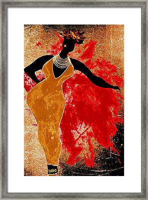 Jazz Reach For It Framed Print