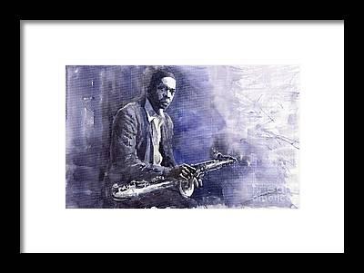 John Coltrane Framed Prints