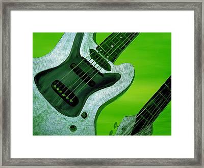 Jazz Three Framed Print