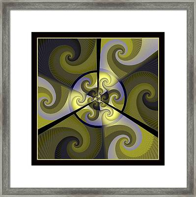 Jazz Transfusion Squared Framed Print by David April
