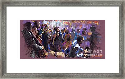 Jazz Framed Print