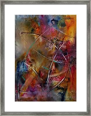 Jazzed Framed Print