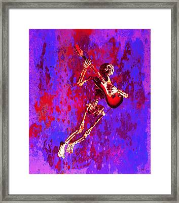Jazzer Framed Print by Jeff Gettis