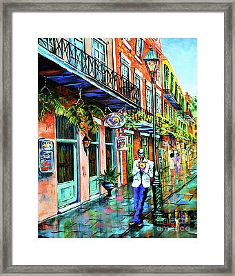Jazz'n Framed Print