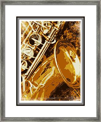 Jazzy Framed Print by Carol Groenen