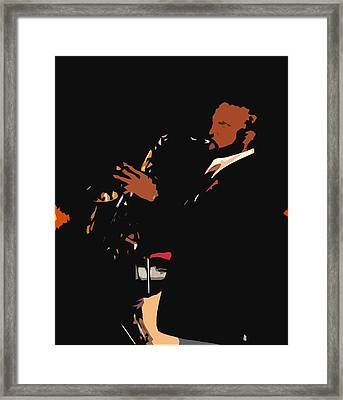 Jazzy Framed Print by James Granberry