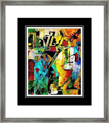 Jazzy Framed Print by Lynda Payton