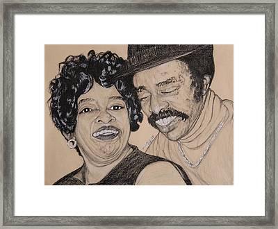 Jb  Wg Portrait Framed Print