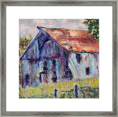 J.c.'s Barn Framed Print