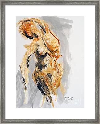 jdgbi Passion Framed Print