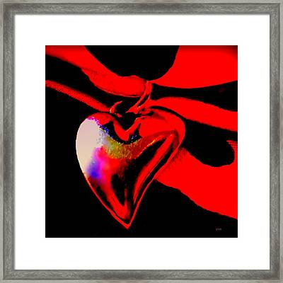 Je T'aime A La  Folie  - Valentine   Dedicated Framed Print